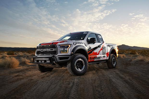 2017 Ford F-150 Raptor Prepares for Off-Road Racing