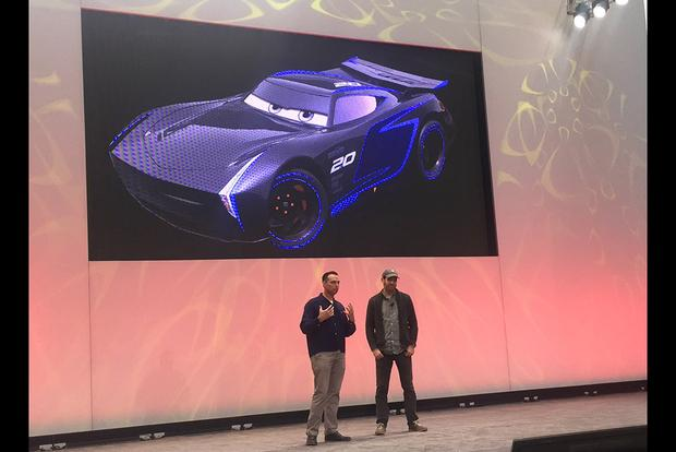 "Pixar Shows Off New Models From ""Cars 3"" At Detroit Auto Show featured image large thumb4"