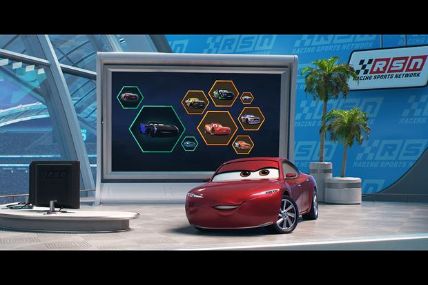 We Got a Sneak Peek at Pixar's New Cars 3 featured image large thumb5