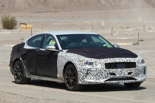 SPIED: The BMW-Fighting Genesis G70 Is on Its Way featured image large thumb1
