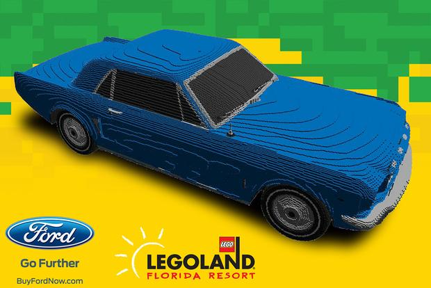 LEGOLAND Is Towing a Lego '64-And-A-Half Mustang Across the Country featured image large thumb0