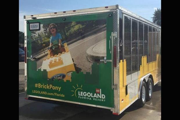 LEGOLAND Is Towing a Lego '64-And-A-Half Mustang Across the Country featured image large thumb1