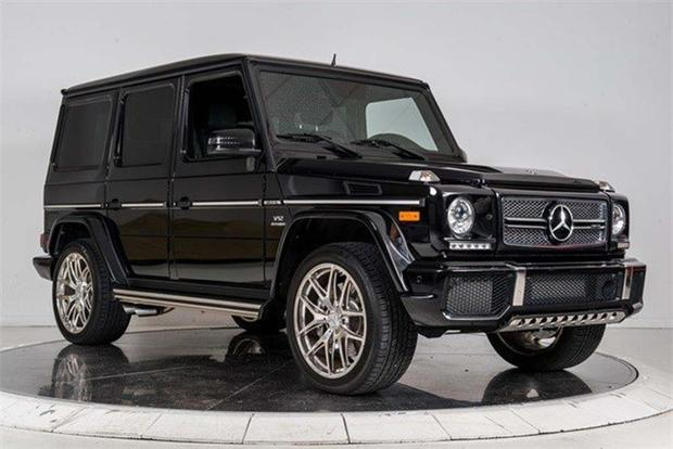 These are the six most expensive used suvs on autotrader for Expensive mercedes benz suv