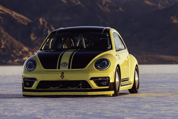 This Is the World's Fastest Volkswagen Beetle, and It Just Hit 205 Miles Per Hour featured image large thumb0