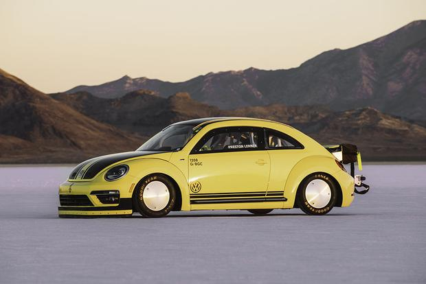 This Is the World's Fastest Volkswagen Beetle, and It Just Hit 205 Miles Per Hour featured image large thumb1