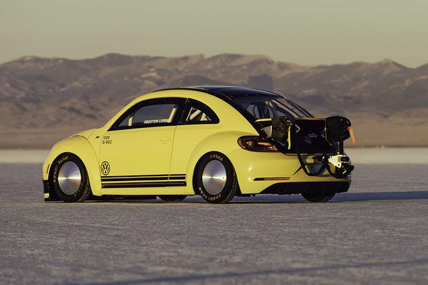 This Is the World's Fastest Volkswagen Beetle, and It Just Hit 205 Miles Per Hour featured image large thumb2