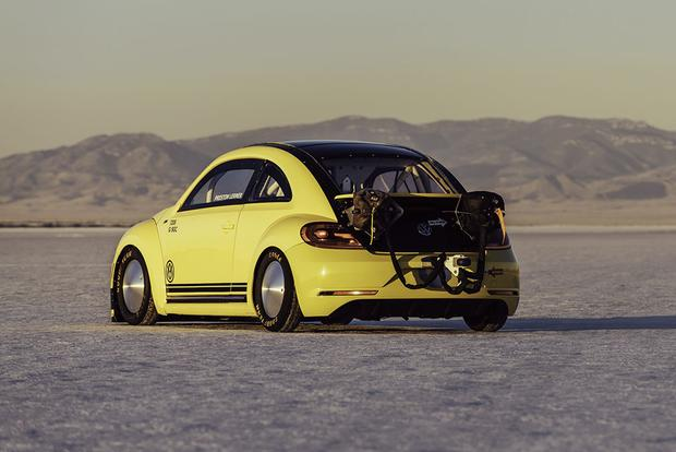 This Is the World's Fastest Volkswagen Beetle, and It Just Hit 205 Miles Per Hour featured image large thumb3