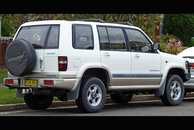 The Isuzu Trooper Was Also a Subaru, an Acura and... the Holden Jackaroo featured image large thumb1