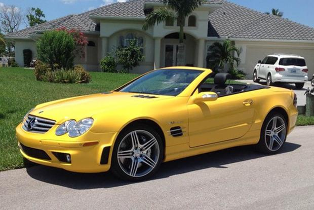 7 Luxury Cars For Sale on Autotrader in Really Weird Colors featured image large thumb4