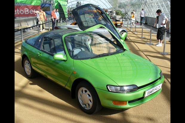 The Toyota Sera Had McLaren F1 Doors Before the McLaren F1 featured image large thumb0