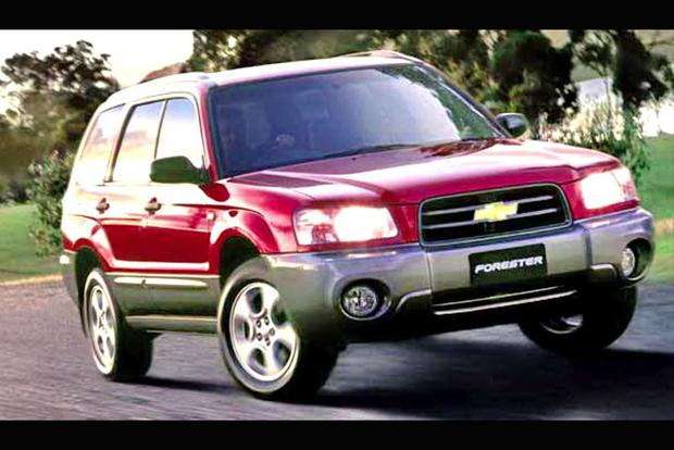 The Subaru Forester Was Called The Chevrolet Forester In India