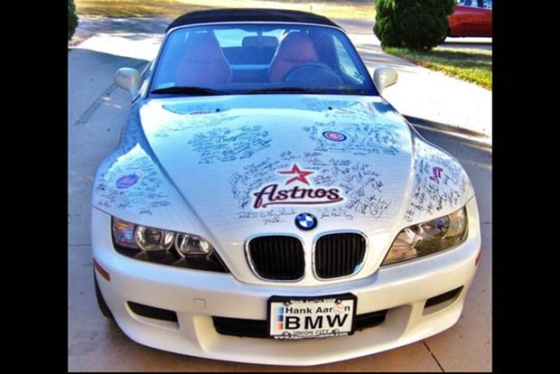 Autotrader Find: 2000 BMW Z3 Signed By Hundreds of Baseball Players featured image large thumb0