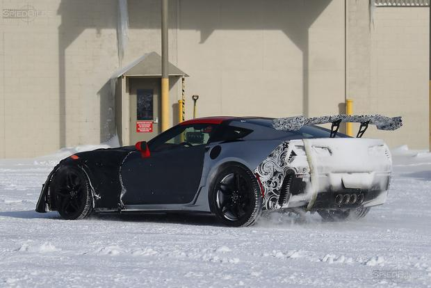 Upcoming Chevy Corvette ZR1 Spied Cold Weather Testing featured image large thumb3