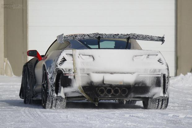 Upcoming Chevy Corvette ZR1 Spied Cold Weather Testing featured image large thumb4