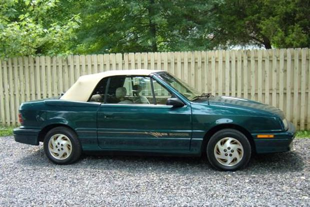 Dodge Shadow and Geo Metro: Those Awful Convertibles of the Early 1990s featured image large thumb1