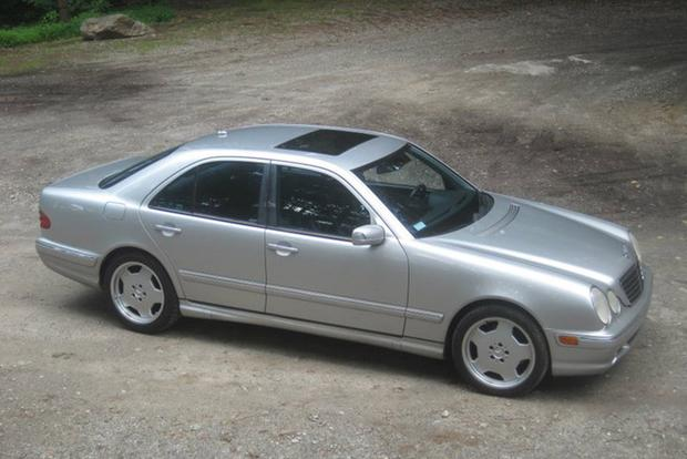 i really miss my 2001 mercedes e55 amg autotrader. Black Bedroom Furniture Sets. Home Design Ideas