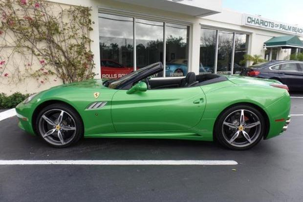 Autotrader Find: Bright Green 2013 Ferrari California featured image large thumb0