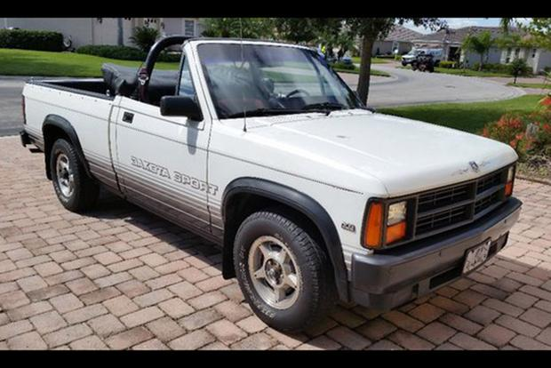 Autotrader Find: 1989 Dodge Dakota Convertible