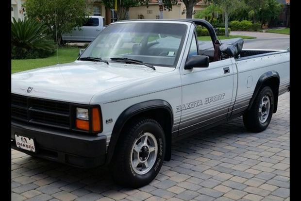 Autotrader Find: 1989 Dodge Dakota Convertible featured image large thumb1