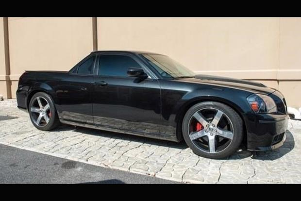 Autotrader Find Dodge Magnum SRT 8 Converted Into A Pickup Featured Image Large Thumb0