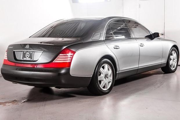 You Can Buy This Maybach on Autotrader for $51,000