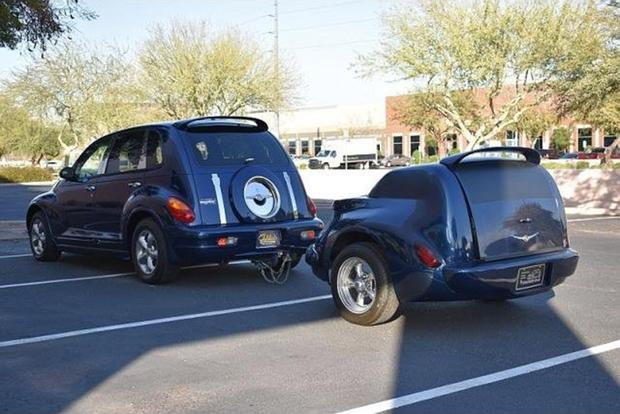 Autotrader Find Chrysler Pt Cruiser With 5 000 Mileatching Trailer Featured Image Large Thumb1