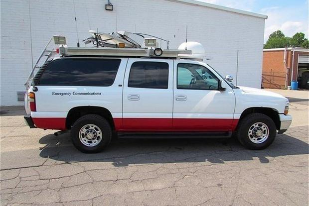 Autotrader Find: Chevy Suburban Broadcast News Vehicle featured image large thumb1