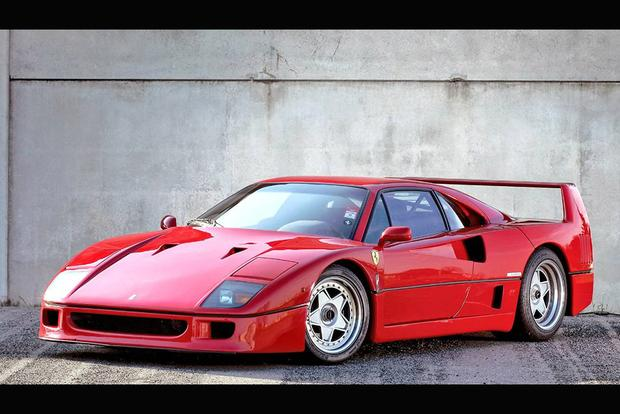 There's a Ferrari F40 With a Factory Automatic Transmission featured image large thumb0