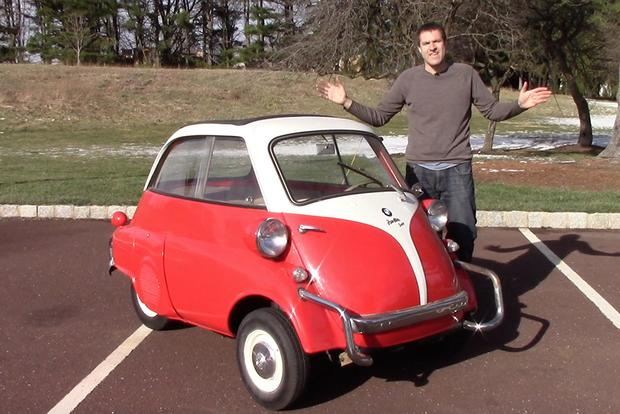 The BMW Isetta Is The Weirdest Car BMW Ever Made