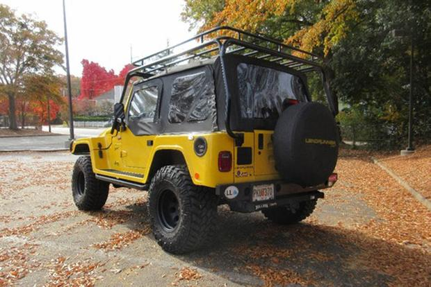 The Jeep Landrunner Is a Wrangler That Looks Like a Hummer featured image large thumb2