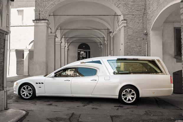 Yes, Someone Made a Maserati Quattroporte Hearse featured image large thumb0