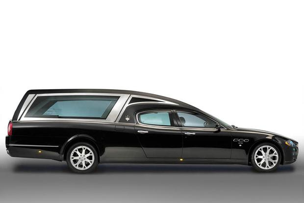 Yes, Someone Made a Maserati Quattroporte Hearse featured image large thumb1
