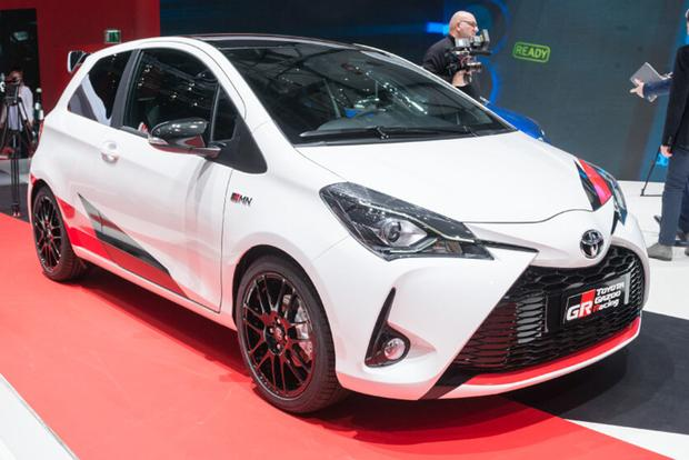 The Toyota Yaris Will Soon Have a Hot Hatch Version featured image large thumb0