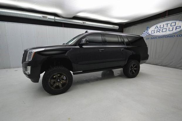 Autotrader Find: Lifted 2016 Cadillac Escalade ESV With Mud Tires