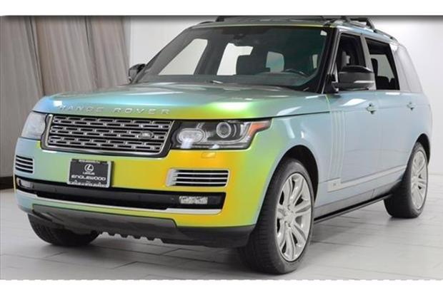 The Color-Changing Range Rover Is Currently For Sale on Autotrader