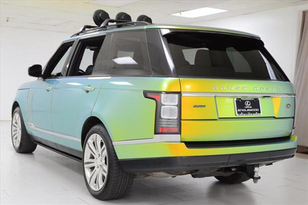 The Color Changing Range Rover Is Curly For On Autotrader Featured Image Large Thumb1