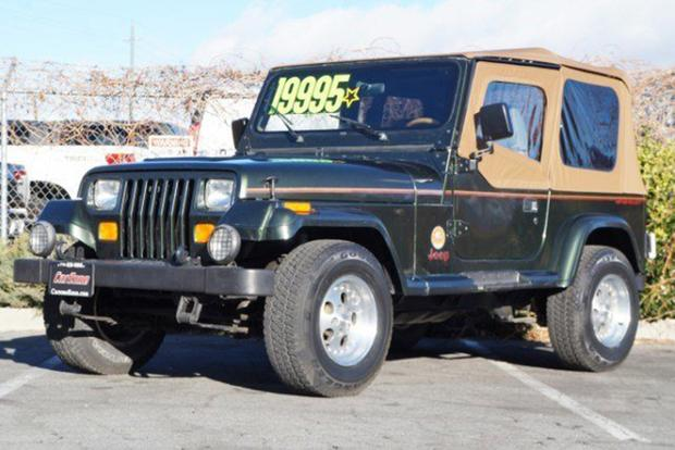 Superb Autotrader Find: 1995 Jeep Wrangler With 14,000 Original Miles Featured  Image Large Thumb0