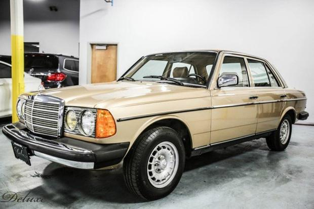 Autotrader Find: 1985 Mercedes-Benz 300D With Just 19,000 Original Miles