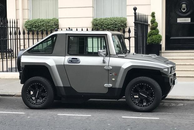 The Hummer Hx Electric Car Is The Revival Of The Hummer