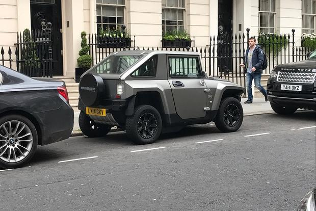 The Hummer HX Electric Car Is the Revival of the Hummer Brand ...