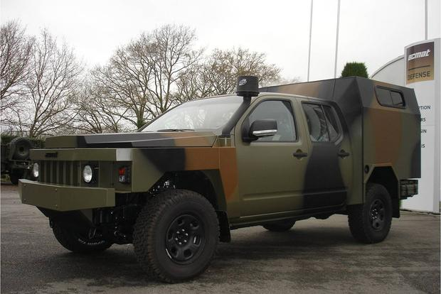 The ACMAT ALTV Is the Strangest Nissan Frontier You'll Ever See featured image large thumb0