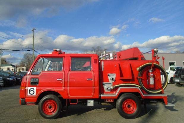 Autotrader Find: Right-Hand-Drive Nissan Fire Truck featured image large thumb1