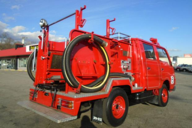 Autotrader Find: Right-Hand-Drive Nissan Fire Truck featured image large thumb2