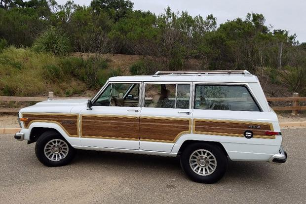 Autotrader Find: One-Owner, Low-Mileage Jeep Grand Wagoneer ... for $54,900 featured image large thumb0