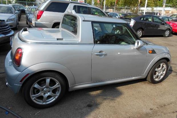 There S A Red Bull Mini Cooper Pickup Truck For On Autotrader