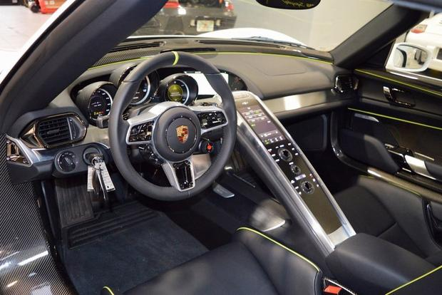 This Never-Driven Porsche 918 Spyder Is on Autotrader for $1.8 Million featured image large thumb2