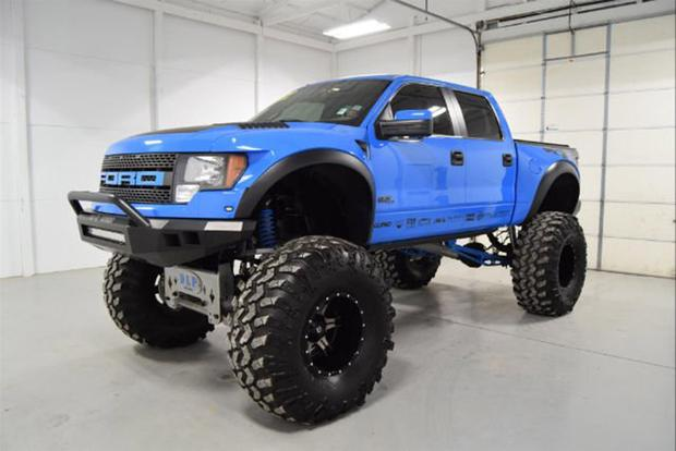 Autotrader Find 2012 Ford F 150 SVT Raptor Monster Truck Featured Image Large Thumb0
