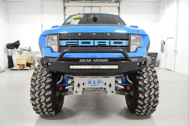 Autotrader Find 2012 Ford F 150 SVT Raptor Monster Truck Featured Image Large Thumb1