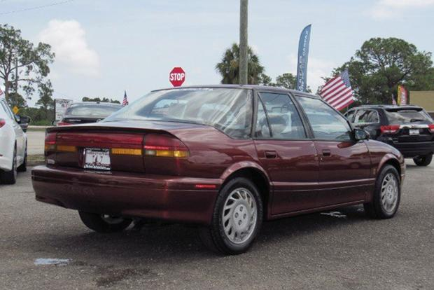 Autotrader Find: One-Owner 1995 Saturn SL2 Time Capsule featured image large thumb3