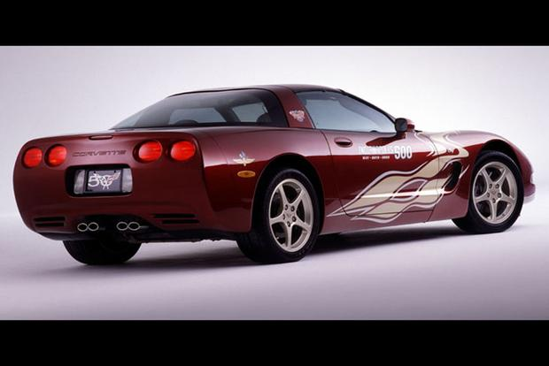 A Look Back At All The Chevy Corvette Indy 500 Pace Cars Autotrader